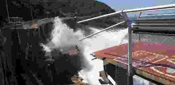 Trecho da ciclovia Tim Maia, no Rio, que desabou na quinta (21). Duas pessoas morreram - Custódio Coimbra - 21.abr.2016 / Agência O Globo