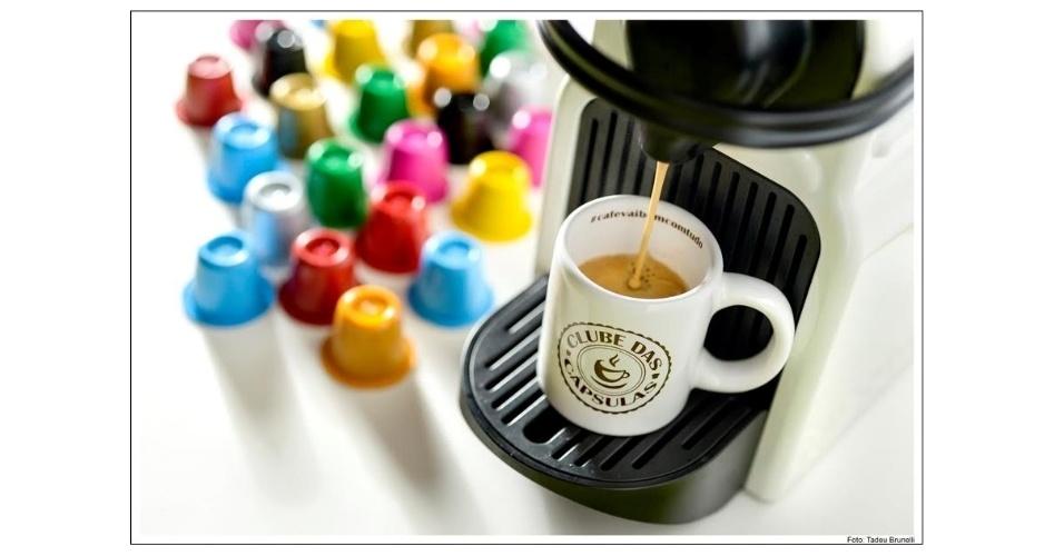 De olho no mercado de cápsulas de café, o administrador de empresas Rafael Joseph criou o Clube das Capsulas, primeiro clube online multimarcas, especializado em cápsula de café compatível com máquinas Nespresso®.  Veja opções de cápsulas clicando ao lado