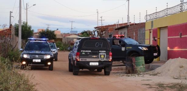 Operação conjunta da Força Nacional e da polícia potiguar prendeu em Mossoró cinco PMs acusados de participar de chacinas