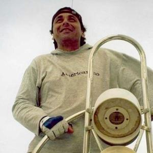 Carlos Klain, navegador argentino que ficou à deriva em Santa Catarina