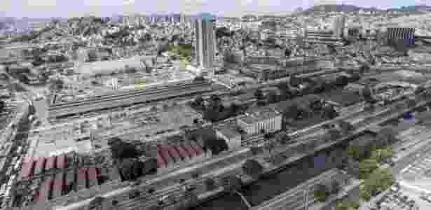 Região onde candidato à Presidência dos Estados Unidos, Donald Trump quer construir empreendimento imobiliário no Rio - Daniel Ramalho/BBC