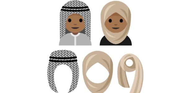 Jovem muçulmana Rayouf Alhumedhi propõe emoji de mulher com lenço de cabeça