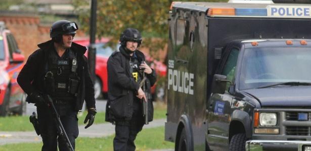 A polícia afirmou ter encontrado dispositivo durante as buscas em uma casa em Devon, no oeste da Inglaterra