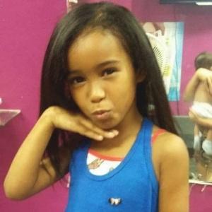 Fernanda Pinheiro foi atingida no tórax enquanto brincava no terraço de sua casa