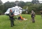 Bandidos rendem piloto e roubam helicóptero em Canela (RS) - Brigada Militar/Divulgação