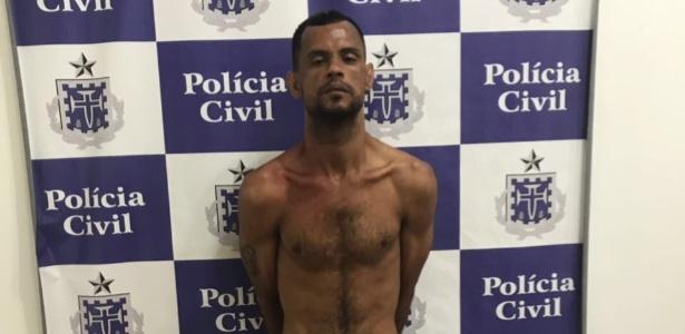 Adriano Silva Conceição dos Santos foi preso em flagrante acusado de estuprar turista