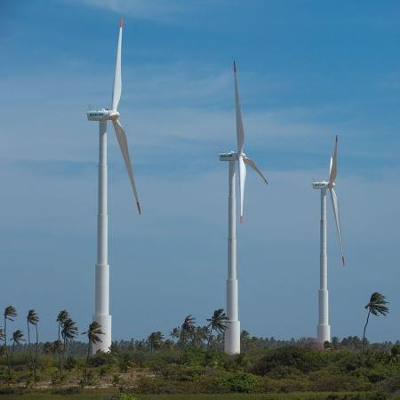 Parque eólico, cuja construção deve ser iniciada em 2021, ficará localizado em Tucano, Biritinga e Araci - Divulgação/Ari Versiani/PAC/Agência Brasil