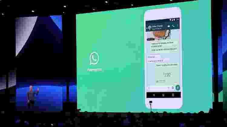 Pagamentos no WhatsApp chegarão a mais locais neste ano - Justin Sullivan/Getty Images/AFP - Justin Sullivan/Getty Images/AFP