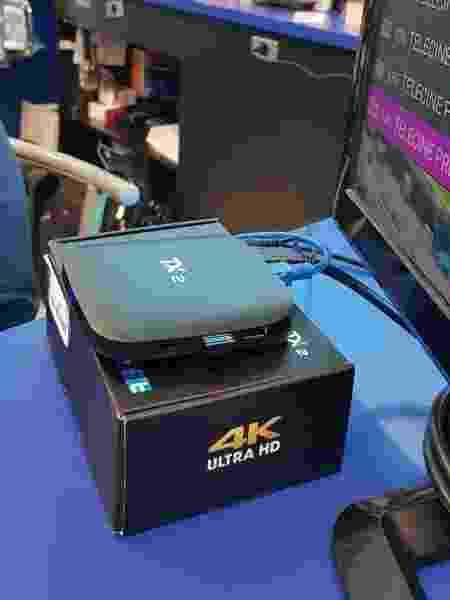 Aparelho é usado para transformar televisores tradicionais em smart TV e, nesse caso, para piratear sinal de TV paga - UOL