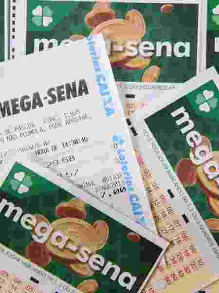 Mega-Sena 2285 teve duas apostas vencedoras na faixa principal - Rodrigo Gavini/Folhapress
