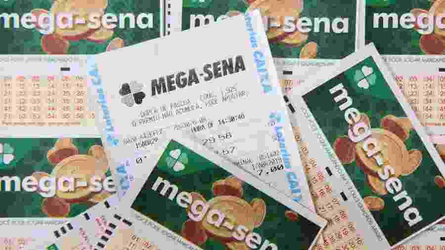 Bilhetes da Mega-Sena - Rodrigo Gavini/Folhapress