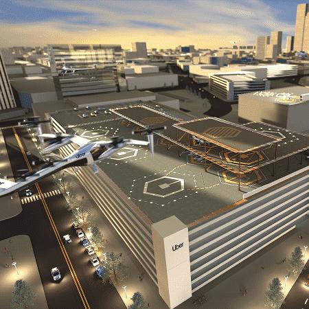 Divulgação  - uber skyport 1560352928233 v2 450x450 - Uber Air: Aeronaves da empresa começarão a voar em 2020