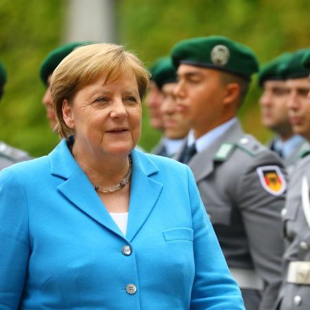 A chanceler alemã Angela Merkel, em Berlim - Hannibal Hanschke - 10.jul.19/Reuters