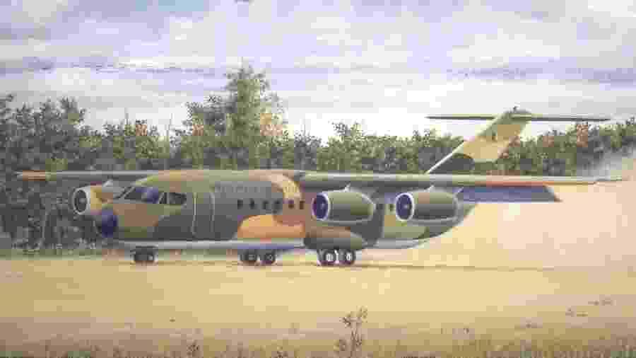 Diversas ideias de aviões acabam sendo descartadas, como essa variante do projeto CX - Revista Flap