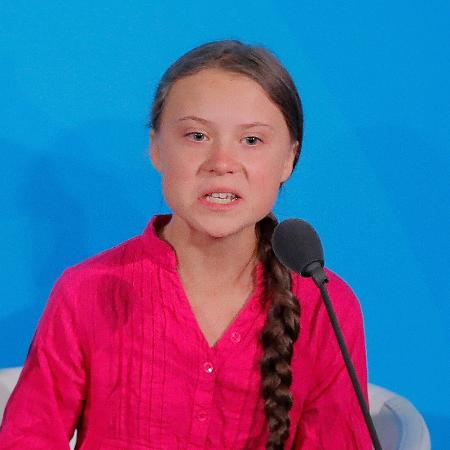 A ativista Greta Thunberg  - Lucas Jackson/Reuters