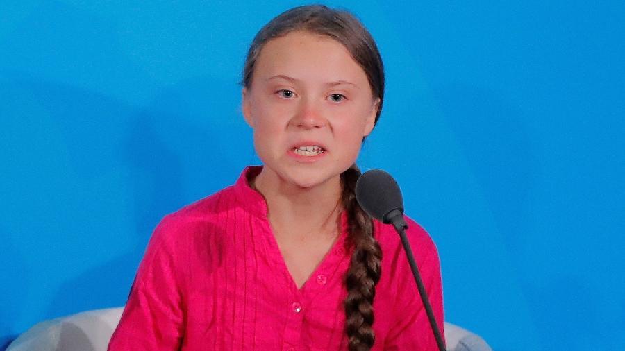 Greta Thunberg  - Lucas Jackson/Reuters