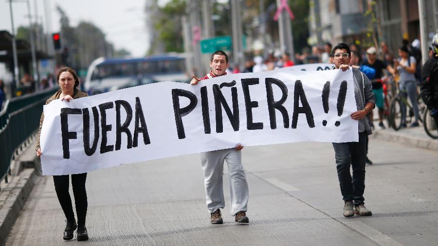 País sul-americana convive com protestos e manifestações políticas nos últimos dias - Pablo Vera/AFP