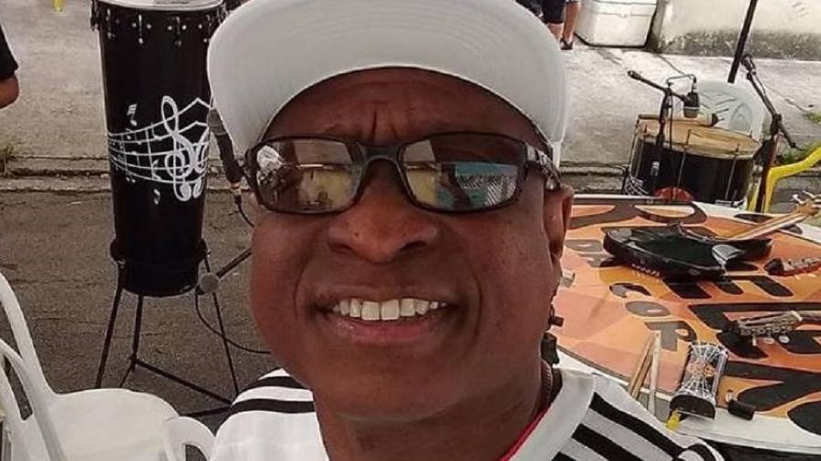 O músico Evaldo Rosa dos Santos, morto por militares no Rio - reprodução/Facebook
