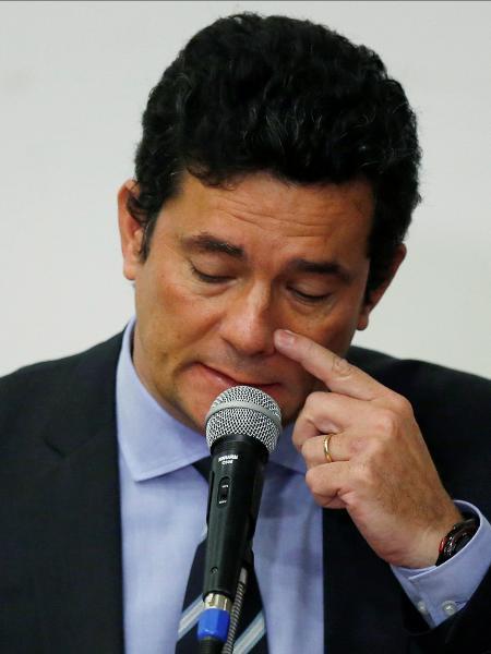 O ex-ministro da Justiça Sergio Moro - Ueslei Marcelino