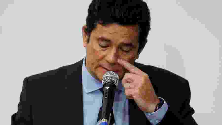 Ex-ministro da Justiça Sergio Moro - Ueslei Marcelino