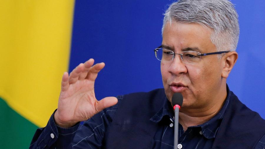 Wanderson de Oliveira foi secretário de Vigilância em Saúde do ex-ministro da Saúde, Luiz Henrique Mandetta - ADRIANO MACHADO
