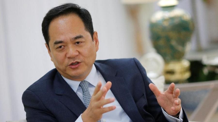 Bastaram poucos dias de atuação do novo chanceler para receber um elogio público do embaixador da China no Brasil, Yang Wanming - Adriano Machado/Reuters