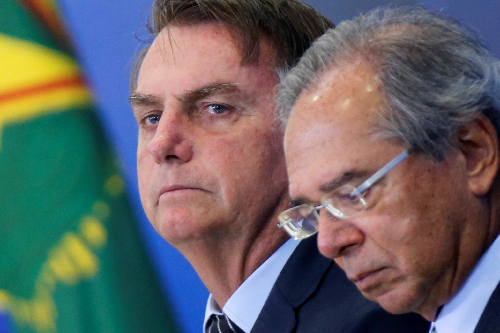 Guedes sobre crítica de Bolsonaro ao Renda Brasil: 'Ele é quem decide' - Notícias - BOL