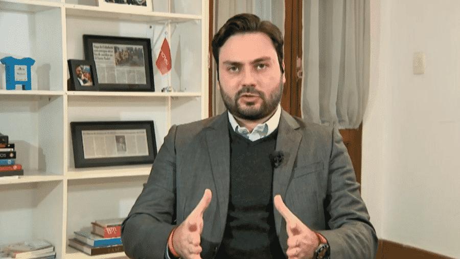 Filipe Sabará é candidato do partido Novo - Reprodução