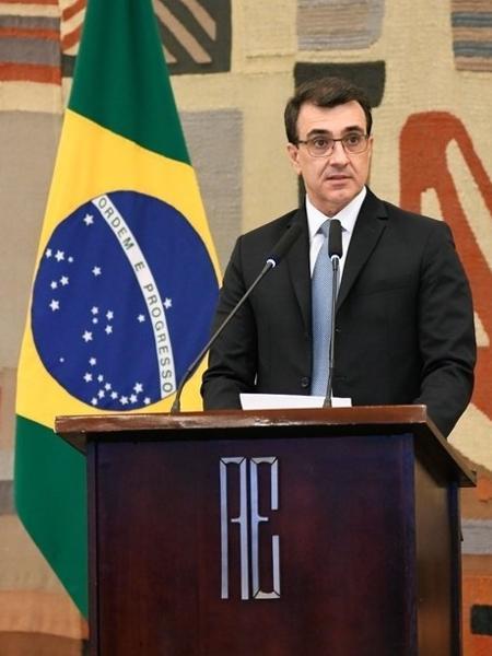 O novo ministro das Relações Exteriores, Carlos Alberto de Franco França - Reprodução/Ministério das Relações Exteriores