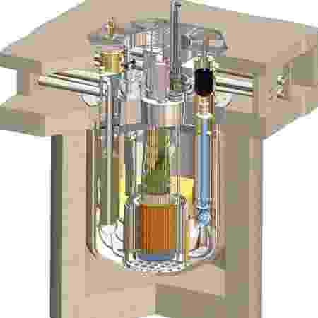 Ilustração demonstra funcionamento de reator Natrium - Terrapower - Terrapower