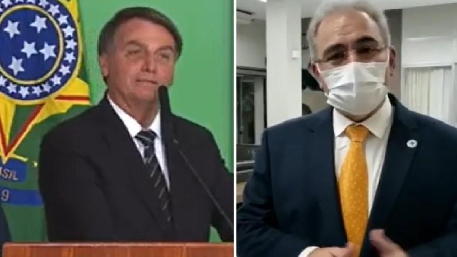 Bolsonaro anuncia que deu a seu ministro uma tarefa indigna e absurda, e o ministro vem a público para dizer que é verdade e que está muito satisfeito - Reprodução