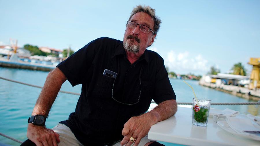 John McAfee em entrevista realizada em Havana, Cuba, em 4 de julho de 2019 - Alexandre Meneghini/Reuters