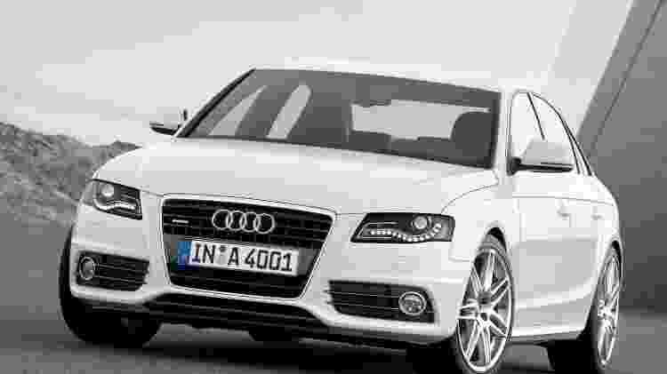 Audi A4 2008 - Divulgação  - Divulgação