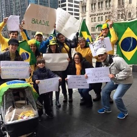 Arquivo: Brasileiros em Chicago, Estados Unidos - Gabriel Coelho/Via WhatsApp