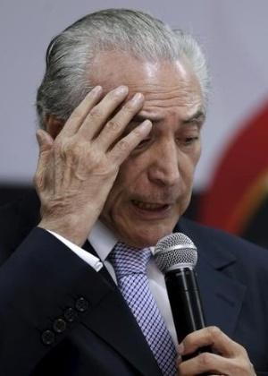 Vice-presidente Michel Temer em Brasília (DF) - Ueslei Marcelino/Reuters
