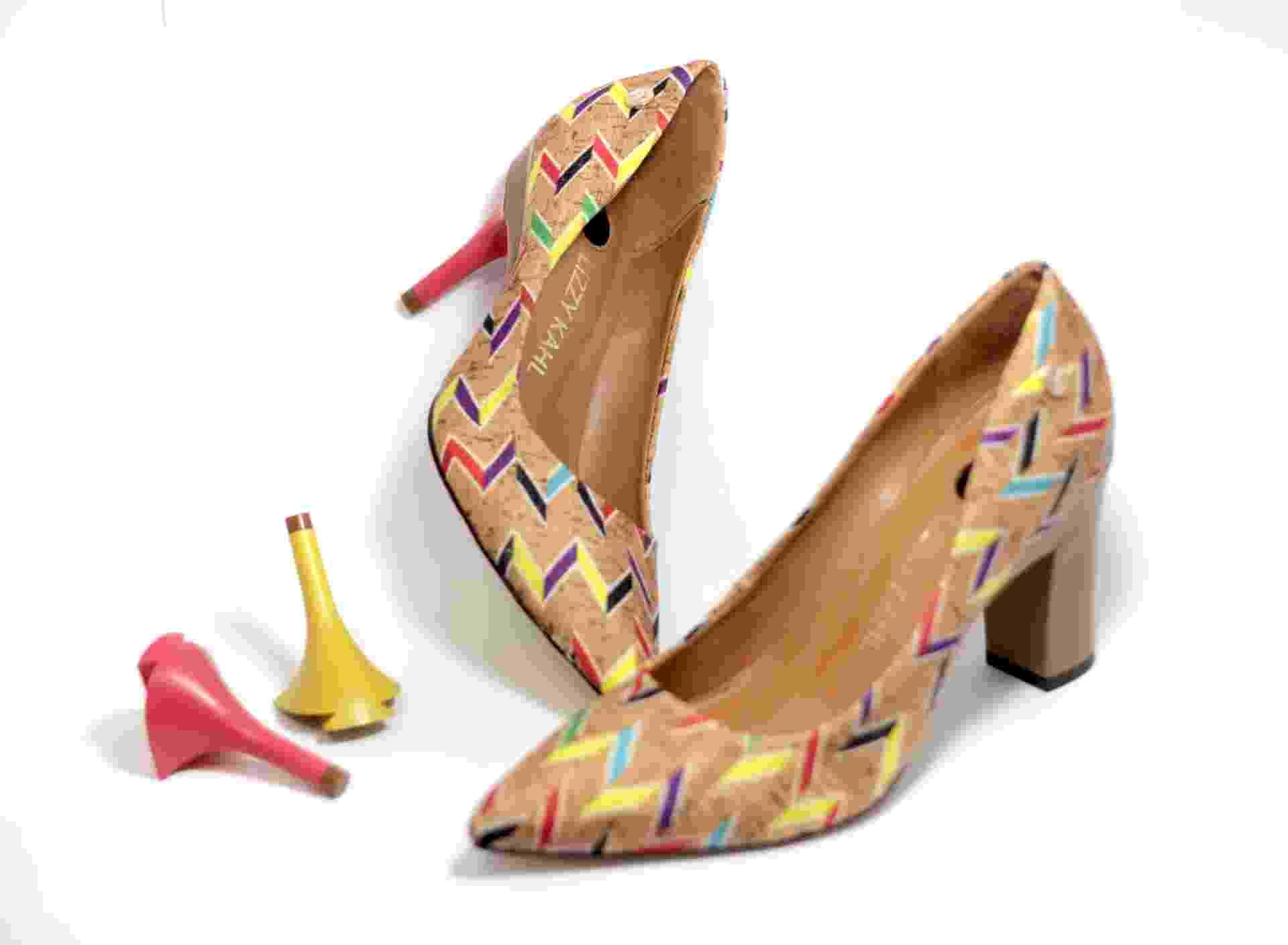 Lizzy Kahl, marca de sapatos que trocam de salto - Divulgação
