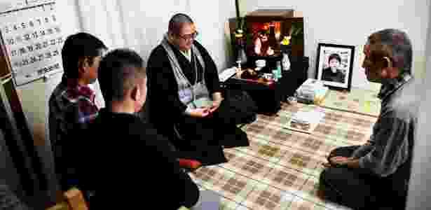 Junku Soko é um dos monges que podem ser contratados pela internet no Japão - Ko Sasaki/The New York Times - Ko Sasaki/The New York Times