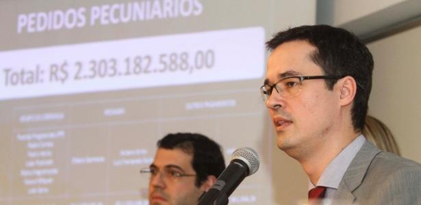 Força-tarefa de Curitiba é coordenada pelo procurador Deltan Dallagnol