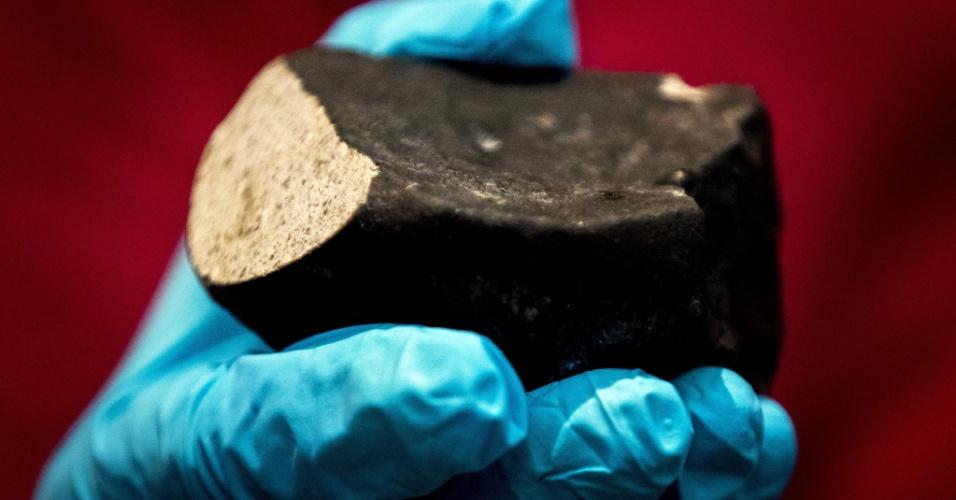 26.jun.2017 - Meteorito com cerca de 4,5 bilhões de anos de antiguidade pode conter indícios sobre criação do Sistema Solar