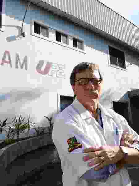 O obstetra Olímpio Moraes, médico pernambucano responsável pelo procedimento de interrupção da gravidez da criança de 10 anos - Teresa Maia/UOL