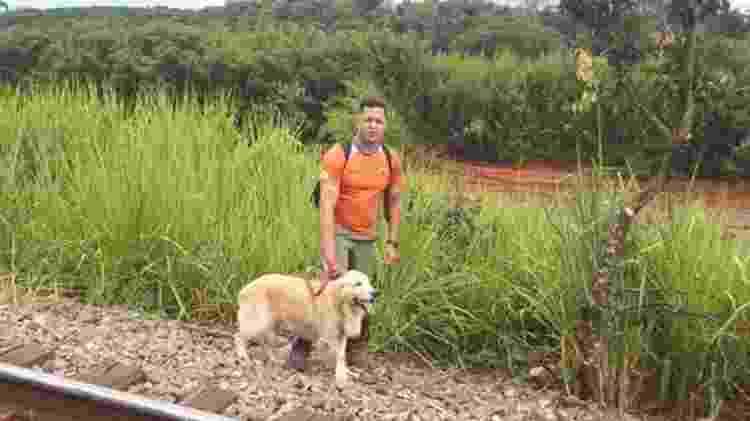 Denis Valério, que também atuou como voluntário na tragédia de Mariana, ajudou a retirar a população ribeirinha das áreas de risco - Arquivo Pessoal/Denis Valerio