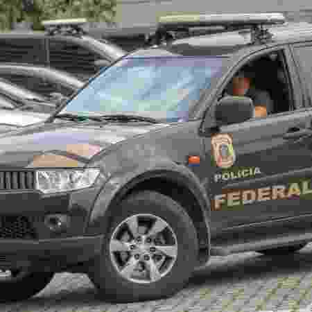 Imagem de arquivo de movimentação na sede da Policia Federal, em São Paulo (SP) - Guilherme Rodrigues/Futura Press/Estadão Conteúdo