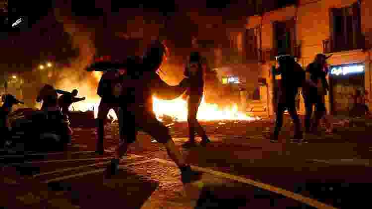 A polícia local estimou que mais de meio milhão de pessoas participaram das marchas - Rafael Marchante/Reuters