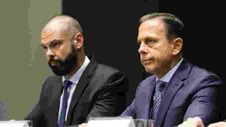 Bruno Covas, prefeito de São Paulo, e o governador João Doria - divulgação/Governo do Estado de São Paulo