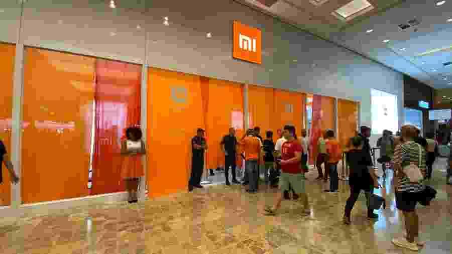 Xiaomi abriu lojas oficiais no Brasil em 2019 - Gabriel Francisco Ribeiro/UOL