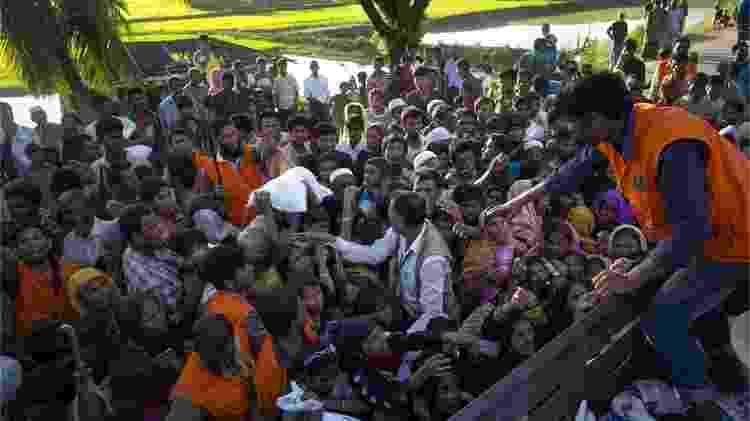 Refugiados rohingyas em Cox's Bazar, Bangladesh - Getty Images