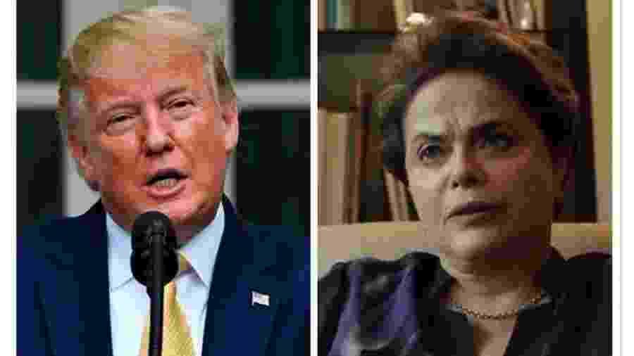 Falas de Trump sobre impeachment poderiam ser confundidas com as ditas por Dilma em seu processo de afastamento - BBC