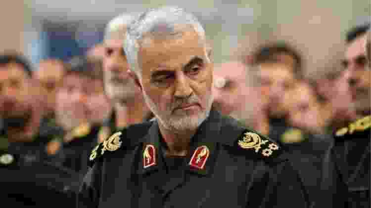 Qasem Soleimani comandava a Força Quds e era um instrumento político iraniano muito importante para espalhar sua influência na região e no mundo - Getty Images - Getty Images