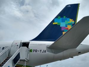 Airbus A321neo é o sétimo modelo da frota da Azul - Vinícius Casagrande/UOL