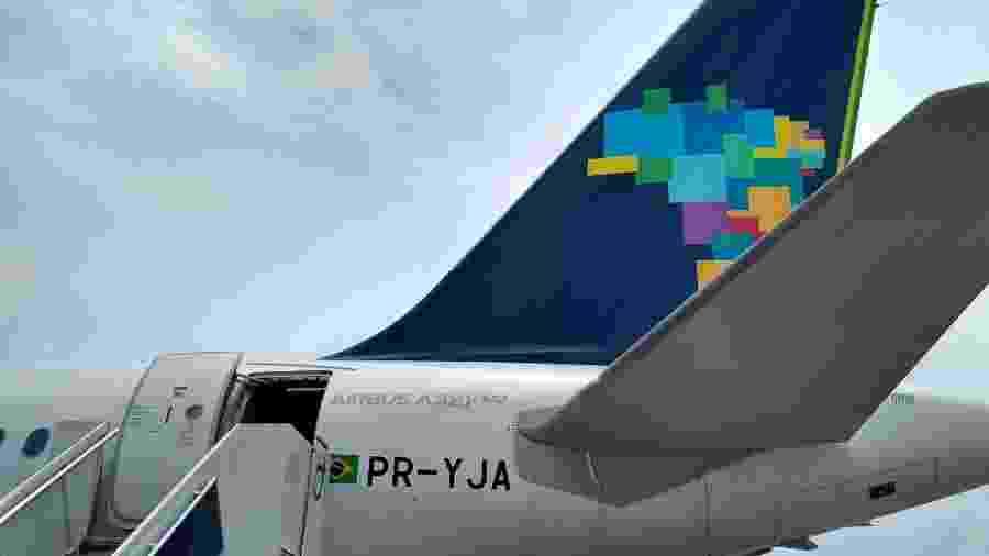 Airbus A321 é o sétimo modelo da frota da Azul - Vinícius Casagrande/UOL